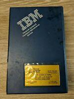 Rare Vintage IBM Personal system/2 Hardware Maintenance Service Catalog Software