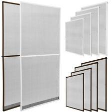 Moustiquaire pour porte fenêtre cadre en aluminium protection contre insectes