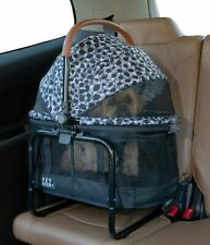 Pet Gear VIEW 360 Dog Cat Carrier Car Booster Seat Travel System Grey Animal
