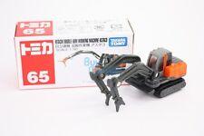 Takara Tomica Tomy #65 Hitachi Double Arm Working Machine Astaco Diecast Toy Car