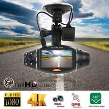 NEW Dual Lens HD 1080P Vehicle Car DVR Dash Cam Video Recorder G-Sensor Camera