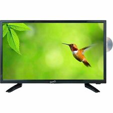 Supersonic 19� Led Hdtv with Dvd, Usb/Sd, Hdmi Inputs Ac/Dc Remote Control