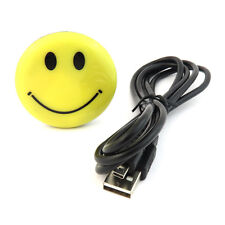 Compact Smile Badge DVR Hidden Covert Spy Camera Cam Rec Smiley Face Pin