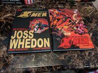 Astonishing X-Men Hardcover HC Volume 1 + 2 Marvel Comics Joss Whedon Omnibus