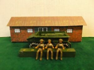 Dinky Toys Reproduction Gunner / Driver.