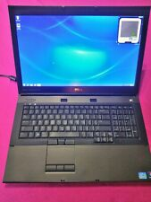 FAST! Dell Precision M6600 Intel I7-2720qm 2.2-3.3Ghz 8GB 128/500GB W7 AMD M6100