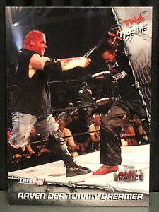 2010 Raven Vs Tommy Dreamer TNA Extreme WWE Wrestling Card #25 Impact ECW WWE