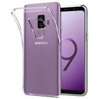 Handy Case Samsung Galaxy S9 Plus Hülle Transparent Etui Tasche Handyhülle Cover