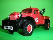 TEXACO 24 HOUR 1946 DODGE POWER WAGON PICKUP TRUCK FIRST GEAR DIECAST #18-2481