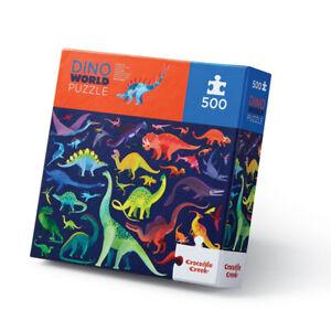 Family Puzzle 500 pc - Dino World by Crocodile Creek