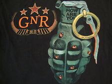 Guns N And Roses Good Morning America Heavy Metal Rock Band concert T Shirt M