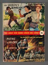 The Queen'S Warrant Talbot Mundy/Pbo/Paths Of Glory (Movie Tie-in/Humphrey Cobb)