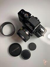 Beseler Topcon Super D Camera with Topcon Re Auto-Topcor 58mm f/1.4 Len