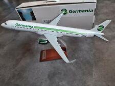 Germania A321 Flugzeugmodell 1:100 XXL-Reisebüromodell Airbus Flugzeug Rarität