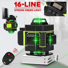 16 Lines 360 ° Green Laser Level Self Leveling Horizontal Vertical Cross