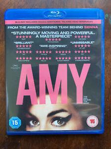 Amy Blu-Ray 2015 Winehouse Rock Pop Singer Film Biografico Musica Documentario
