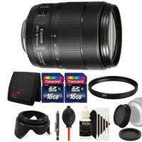 Canon EF-S 18-135mm f/3.5-5.6 IS USM Lens and 32GB Accessories for DSLR Cameras