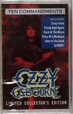 OZZY OSBOURNE: Ten Commandments SEALED USA Cassette Tape NEW Limited