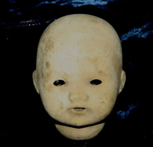 Antique  Doll Head Composition Dream Baby never finished