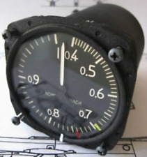 FAHRTMESSER AIR SPEED INDICATOR 0,4-1 MACH BREGUET ATLANTIC BUNDESWEHR LUFTWAFFE