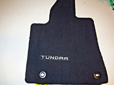 Toyota Tundra 2016 BLACK CARPET MAT 1 PC Driver side- Factory