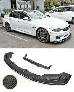 CARBON FIBER Front Lip For 15-Up BMW F80 M3 | F82 F83 M4 Bumper Lower Splitter