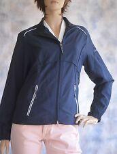 NWT Women's CUTTER & BUCK Lined Windbreaker  Windtec Navy Blue Jacket  PS