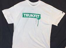 TRUKFIT T-SHIRT COLOR -WHITE , SIZE-XXL Trukfit Graffiti On Front.  U Like U Buy