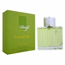 Vintage Good Life GoodLife Davidoff 75ml/ 2.5oz Mens Perfume EDT Spray Genuine