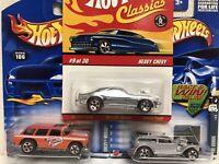 Hot wheels redline lot Chevy Nomad Redline Lot Of 3 Redline Hot Wheels