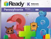 Ready Mathematics Instruction Gr K Pennsylvania PA Core Edition NO WRITING