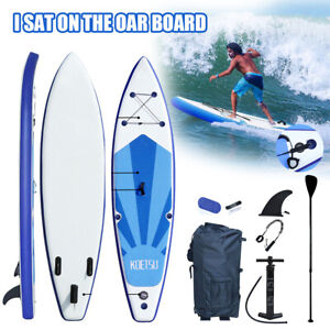 10ft Inflatable Surfboard SUP Stand Up Paddle Board Paddle Pump W/ Complete kit
