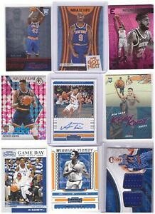 NEW YORK KNICKS Auto Autograph RED HOT Basketball LOT !!!!
