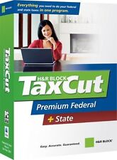 H&R Block TaxCut 2007 Premium Federal + State [OLD VERSION] [CD-ROM] [CD-ROM]