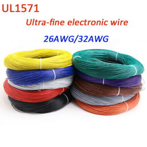 26-32awg Connecting Wire Ultrafine Wire UL1571 American Standard Electronic Wire