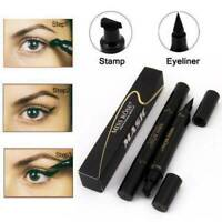 Black Winged Eyeliner Stamp Waterproof Eye Liner Pencil Liquid Miss Rose Pen UK