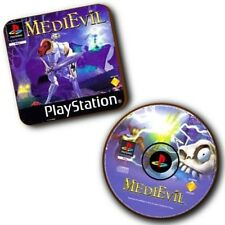 Medievil PlayStation PS1 Game Box Art + Disc Art - Wood Coasters - Set Of 2