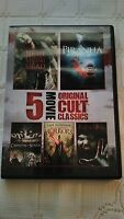 5 FEATURES NIGHT OF LIVING DEAD PIRANHA LITTLE SHOP OF HORRORS MANIAC CARNIVAL O
