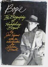 N/F SIGNED! 1ST/1ST BOGIE, THE BOGART BIOGRAPHY, JOE HYAMS,INTR0:LAUREN BACALL