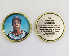Mint # 33 Dwight Gooden 1987 Topps Coin New York Mets