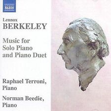 Lennox Berkley: Music for Solo Piano & Piano Duet, New Music