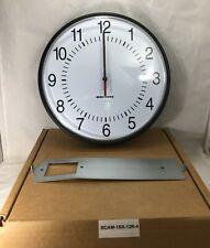 Bogen Sapling Clock, BCAM-1BS-12R-4, 24V, Selectable.NEW