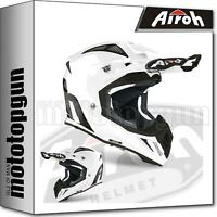 AIROH AVA14 INTEGRALHELME OFF-ROAD MOTORRAD WEISS GLOSS AVIATOR ACE COLOR L