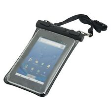 Case cover waterproof for 7 - 7.9 Inch Tablet Beach Bag universal transparente