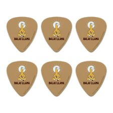 Dalai Llama Funny Humor Novelty Guitar Picks Medium Gauge - Set of 6