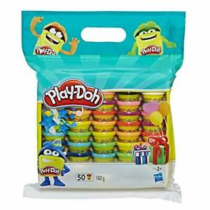 Hasbro PLAY-DOH Set of 50 x 28g Tubs SEALED Playdoh 1400g total