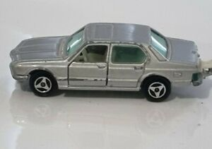 Majorette, Vintage Silver BMW 733, No 256, 1/60