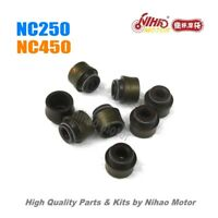 60 nc250 Parts Valve seal ZONGSHEN Engine nc ZS177MM KAYO Asiawing Xmoto