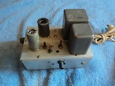 RF AMPLIFIER HOME BREW RUNS 7137 TUBE AND WESTERN ELECTRIC 417A/ 5842 TUBE