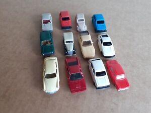 Lot de miniatures ho 1/87